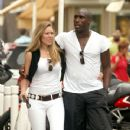 Sol Campbell and Fiona Barratt