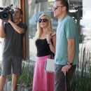Heidi Montag seen filming their new reality show in Beverly Hills, California on July 28, 2015 - 389 x 600