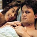 Matthew Perry and Maggie Wheeler