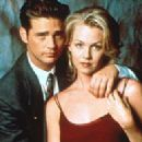 Jennie Garth and Jason Priestley