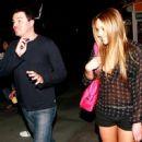Seth MacFarlane and Amanda Bynes