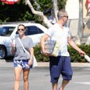Reese Witherspoon is seen going to the market with husband Jim Toth in Los Angeles, California on June 19, 2016 - 454 x 600