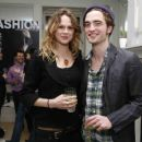Robert Pattinson and Nina Schubert