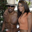Jamie Foxx and Claudia Jordan
