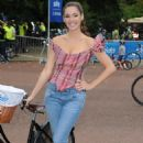 Kelly Brook - At A Sky Ride Event In London - Sept 5, 2010