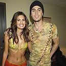 Yamila Diaz and Enrique Iglesias