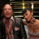 Mickey Rourke and Bai Ling