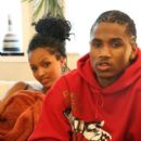 Trey Songz and Angel Melaku