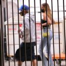 Hailey and Justin Bieber – Seen at a Catch restaurant in West Hollywood