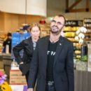 Ringo Starr and his wife, Barbara Bach, are seen shopping at Erewhon health food store on March 15, 2016.