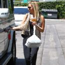 Ashley Tisdale: at a local eatery in Studio City