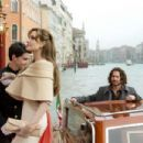 Angelina Jolie as 'Elise Clifton-Ward' and Johnny Depp as 'Frank Tupelo' in THE TOURIST. Photo By: Peter Mountain. © 2010 CTMG, Inc. All Rights Reserved.