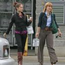 Kristin Kreuk and Allison Mack – Shopping in Vancouver - 454 x 515