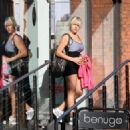 Abi Titmuss - Out In London 12/10/10