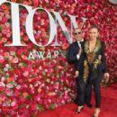 Thalia and Tommy Mottola- 72nd Annual Tony Awards - Arrivals