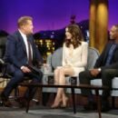 Lily Collins – The Late Late Show with James Corden in LA