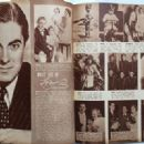 Tyrone Power - Movie Life Magazine Pictorial [United States] (May 1941) - 454 x 330