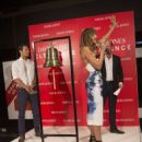 Jesinta Campbell Rings Bell At David Jones Boxing Day Clearance Sale In Sydney