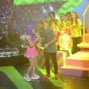 Benjamín Amadeo and Mariana Esposito- Kids' Choice Awards Argentina 2015- Show - 454 x 303