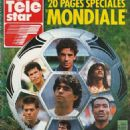 Télé Star - Télé Star Magazine Cover [France] (4 June 1990)