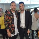 Nick Blood attends the Murad LA Flagship Store Grand Opening Stars Event