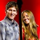 Bruce Irons & Lyndie Irons, the brother & the wife of the late champion surfer - 345 x 346