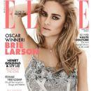 Brie Larson - Elle Magazine Cover [Malaysia] (April 2016)