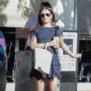 Lea Michele – Leaving Joan's on Third in Studio City