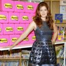 Debra Messing: at the 'Post-It Your Words Stick With Them' event in New York City