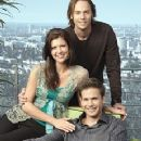 Sarah Lancaster and Barry Watson