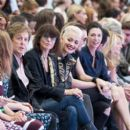 Sir Paul McCartney; Chrissie Hynde; Rita Ora; Jamie Campbell Bower and Mary McCartney attend the Hunter Original show during London Fashion Week Spring Summer 2015 at on September 13, 2014 in London, England.