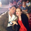 Jorge Luis Pila and Erika de la Rosa