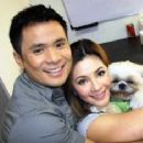 Regine Velasquez and Ogie Alcasid