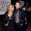 Pierce Brosnan and Kathryn Kinley