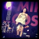 Miranda Cosgrove performed at Universal Studios Orlando yesterday, July 14