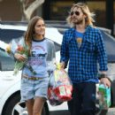 Jared Leto and Isabel Lucas