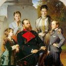 The Family of the Grand Duke of Hesse - 454 x 507