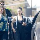 Mila Kunis – Arrives at a studio in Culver City