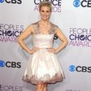 Monica Potter attends the 2013 People's Choice Awards at Nokia Theatre L.A. Live in Los Angeles on Jan. 9, 2013