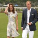 Prince William and his wife Kate attend The Foundation Polo Challenge held at the Santa Barbara Polo & Racquet Club on Saturday (July 9) in Santa Barbara, California