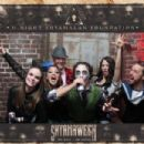 James McAvoy and Lisa Liberati at M Night Shyamalan's Halloween Party 'Shyamaween' in Philadelphia on Oct. 29, 2016