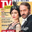 Jeremy Piven - TV Mini Magazine Cover [Czech Republic] (3 September 2016)