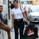 Frankie Bridge – Arriving at BUILD AOL TV Show in London - 454 x 658