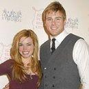 Aaron Hill and Molly Burnett