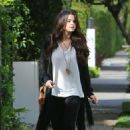 Selena Gomez: hit up the Nine Zero One Salon in West Hollywood