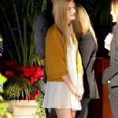 Elle Fanning At The Four Seasons Hotel In Beverly Hills