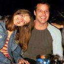 Ines Misan with Ricky Martin, 2001 - 279 x 303