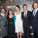Sam Heughan,Caitriona Balfe, Tobias Menzies, the Writer Diana Gabaldon and the producer Ronald D.Moore - 'OUTLANDER' SCREENING IN NYC
