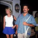 Keith Hernandez and Cheryl Tiegs
