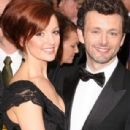 Michael Sheen and Lorraine Stewart